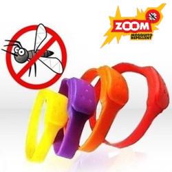 Pulseras Antimosquitos ZOOM Rojo